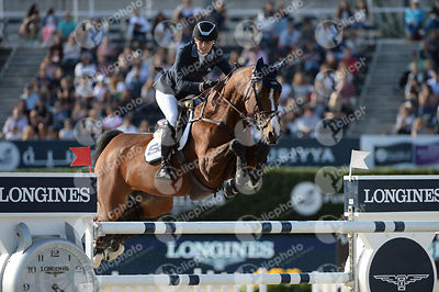 Jonna EKBEG, (SWE), AIR PIA VZ during Longines Cup of the City of Barcelona competition at CSIO5* Barcelona at Real Club de Polo, Barcelona - Spain