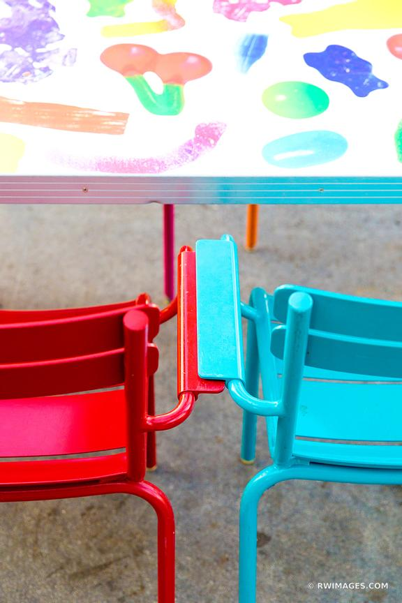 COLORFUL OUTDOOR FURNITURE MIAMI FLORIDA