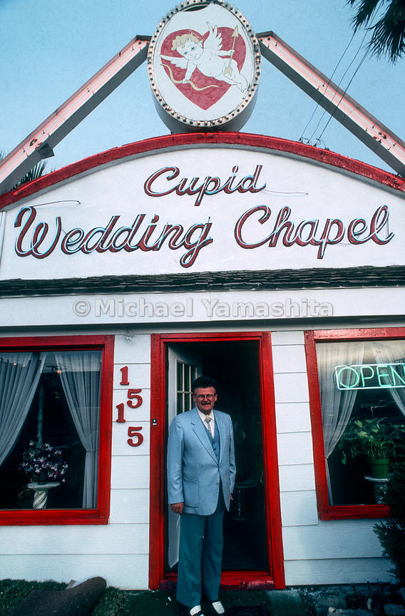 Cupid Wedding Chapel.Las Vegas, Nevada