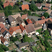 Typical Alsacian Village, Alsace
