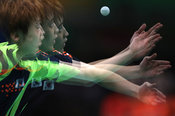 RIO DE JANEIRO, Brazil, AUGUST 8. #TABLE TENNIS, MEN'S SINGLES . JEOUNG Youngsik (KOR)  V/S MA Long (CHN)Photos azsportsimages | Pentapress/