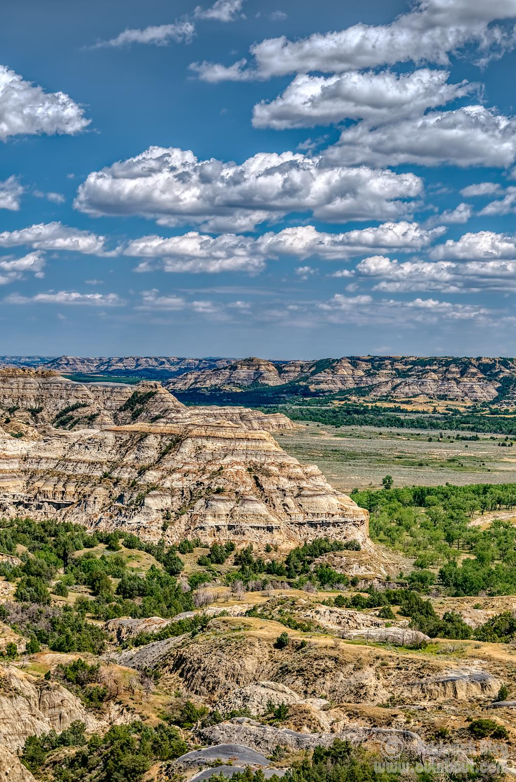 Badlands View from River Bend Overlook