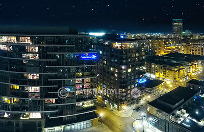 Aerial view of Pearl District
