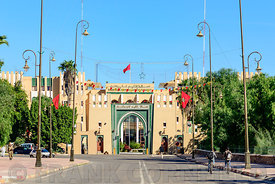 TAROUDANT, MOROCCO – NOVEMBER 02, 2015: Provincial government offices in Taroudant, Morocco.