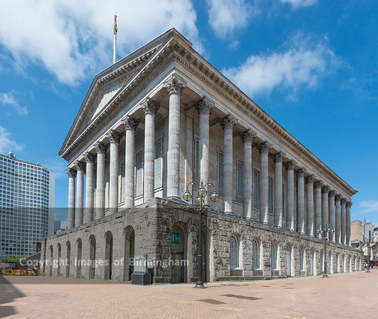 The Birmingham Town Hall, Victoria Square, Birmingham