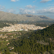 Pollensa aerial photos
