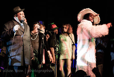 SACRAMENTO, CA - MARCH 30: George Clinton and Parliament Funkadelic, performing at the Ace of Spades, Sacramento CA, on March 30th 2013.