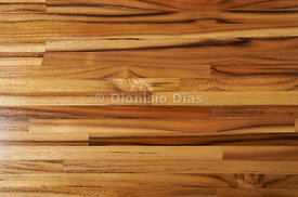 Background of narrow wooden slats.