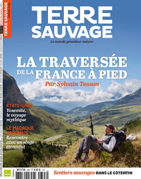 Double page : Terre Sauvage Publication Terre Sauvage