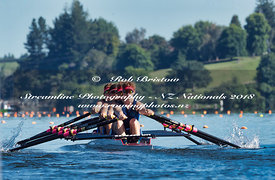 Taken during the National Championships 2018, Lake Karapiro, Cambridge, New Zealand; ©  Rob Bristow; Frame 0990 - Taken on: Friday - 16/02/2018-  at 09:01.07