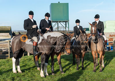 The Belvoir Hunt at Long Clawson 15/12 photos