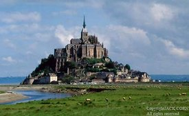France, Mont St. Michael two