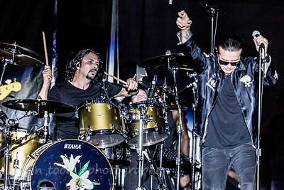 Ian Astbury and John Tempesta, The Cult