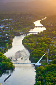 Sundial Bridge From the Air #16
