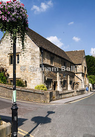 The Masonic Hall formally the Old Church Hall built in 1538, Bradford on Avon, Wiltshire, England.