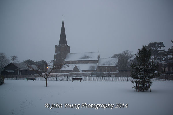 Worthing Snow Photos
