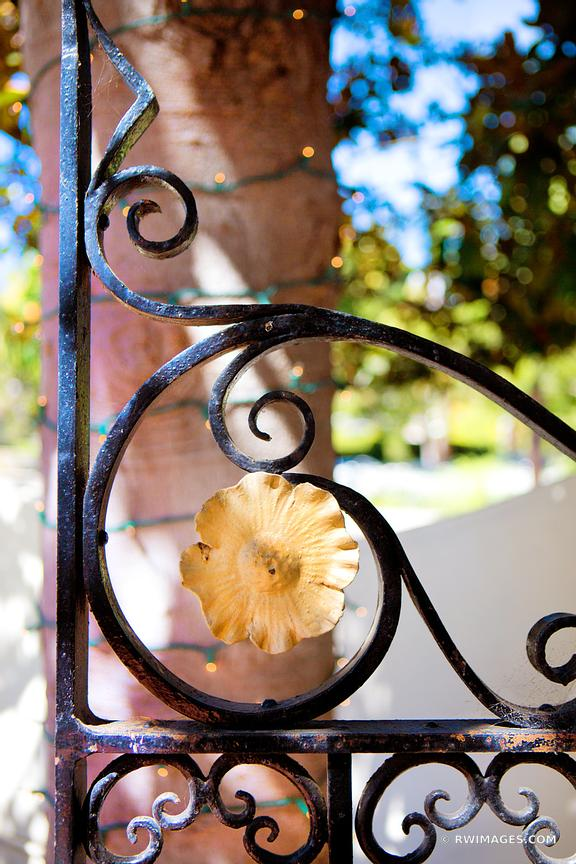 IRON GATE SANTA BARBARA CALIFORNIA COLOR VERTICAL