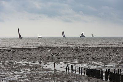 Thames barges from East Mersea