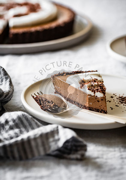 Raw Vegan Chocolate Cream Tart