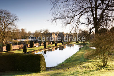 The canal at Forde Abbey in April