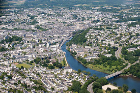 photo de la ville de quimper