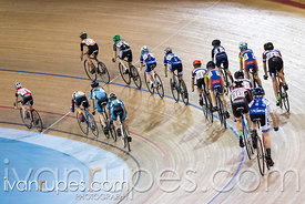 U15 Men Scratch Race. Ontario Track Championships, Mattamy National Cycling Centre, Milton, On, March 4, 2017