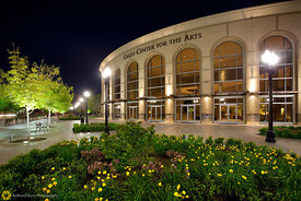 Gallo Center at Night #3