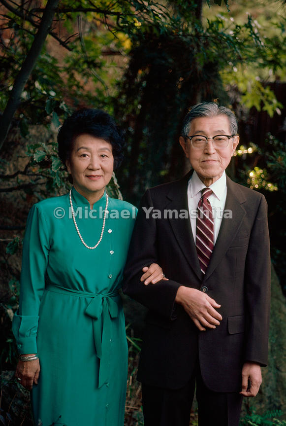 Vows of devotion helped Dr. Kazyuki Takahashi and his wife, Soyo, endure internment. The couple had hastened their marriage to keep from being separated during the war.