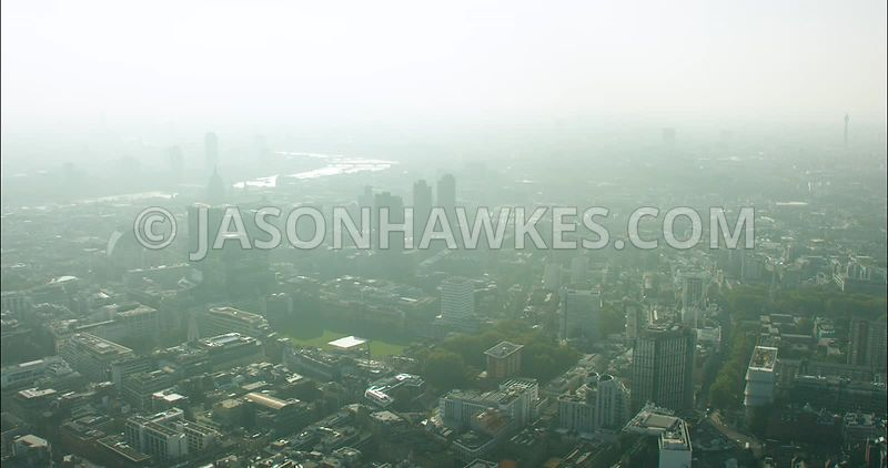 London Aerial Footage of Artillery Ground