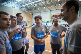 during the Final Tournament - Final Four - SEHA - Gazprom league, Kids day in Brest, Belarus, 08.04.2017, Mandatory Credit ©SEHA/ Saša Pahič Szabo..