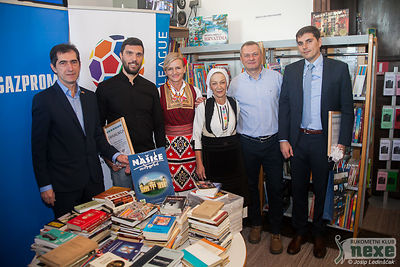 Vardar and Nexe together for Croatian national library in Nasice photos