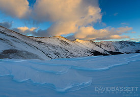 Wind Blown Snow | Loveland Pass, CO