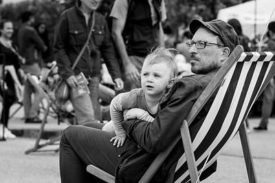 Street Photo - Father's Day