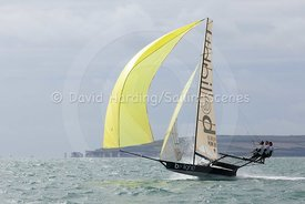 Be Light, HUN 18, 18ft Skiff, Euro Grand Prix Sandbanks 2016, 20160904586