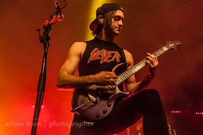 Christian Thompson, guitar, Falling In Reverse