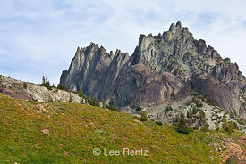 Mt. Clark and the Needles in Olympic National Park