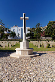 British War Cemetry, Alinta, Leros Island, Dodecanese Islands, Greece.