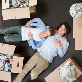 lifestyle - moving home photos