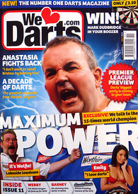 We Love Darts February 2010 – Front Cover.2785175 – Steven Paston.