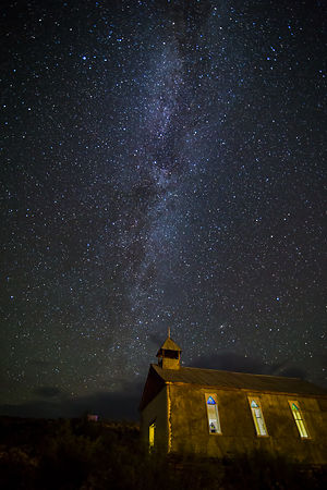 Church and Milky Way