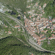 Pontedassio aerial photos