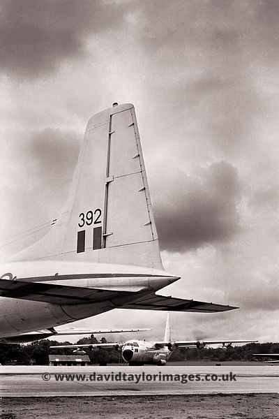 A Route Trainer and a Aussie Herc | C-130A A97-205 and Britannia C2 XN392 | RAF Changi May 1962