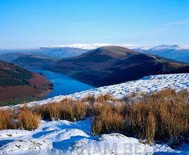 talybont reservoir, glyn collwn, brecon beacons national park, powys, wales