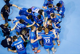 Team Meshkov Brest during the Final Tournament - Final Four - SEHA - Gazprom league, Telekom Veszprém - Meshkov Brest in Brest, Belarus, 07.04.2017, Mandatory Credit ©SEHA/ Stanko Gruden