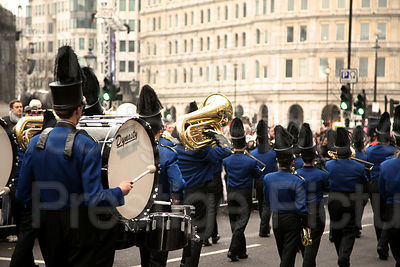 London New Year Parade-Clarkston High School Marching Band