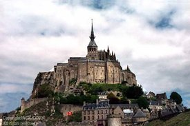 France, Mont St. Michael one