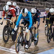 Master Women Scratch Race. Ontario Track Championships, March 3, 2018
