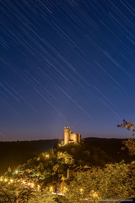Star rain in Najac - Aveyron