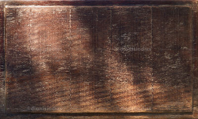 Antique wooden bottom with light spots