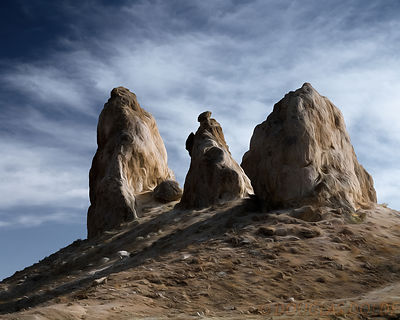 Trona Pinnacles Impressions Images